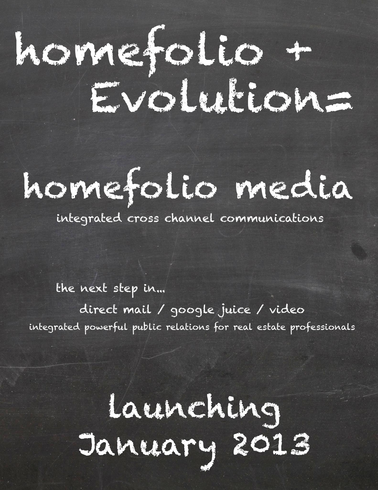 a New HomeFolio is coming
