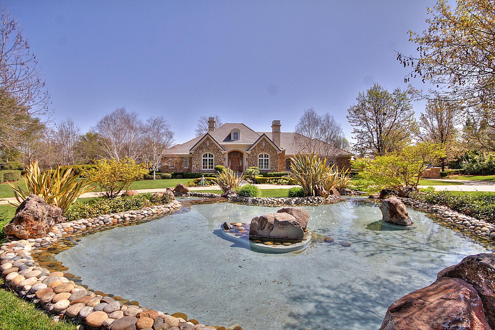 Magnificent French Country Estate Pleasanton Ca Homefolio