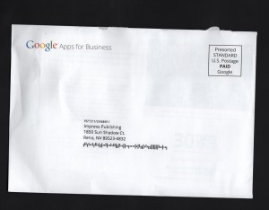 Google Direct Mail 1