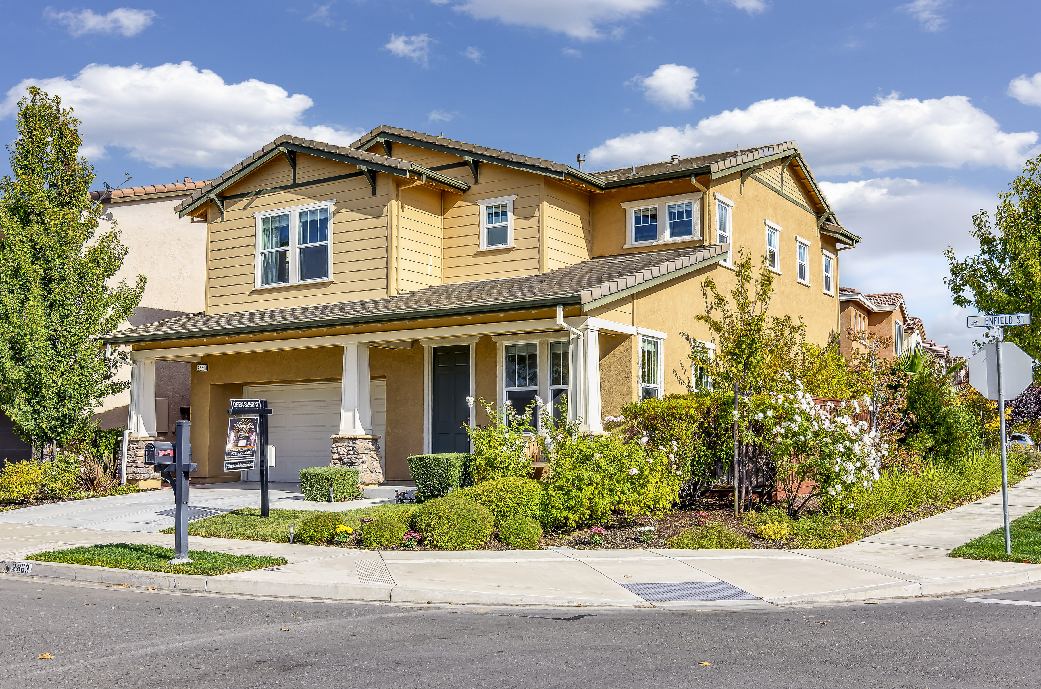 Open House for 2863 Enfield St, San Ramon, CA