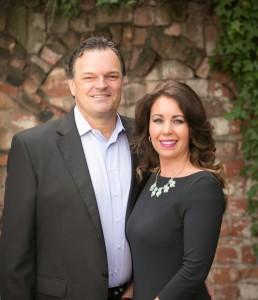 Jon Wood and Holly Sibley