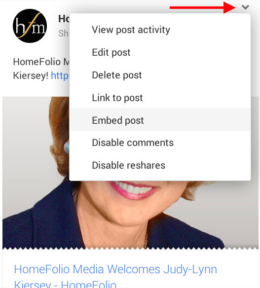 Embed HomeFolio Media Post 1