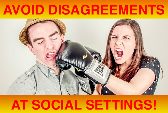 avoid disagreements