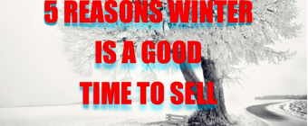 5 Reasons Winter is a Good Time to Sell